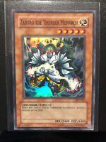 Card yu gi oh zaborg the thunder monarch dl09-fr009 green