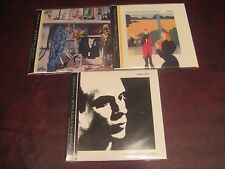 BRIAN ENO 3 JAPAN REPLICAS ORIGINAL LPS RARE LIMITED OBI CD SET 1 TIME SPECIAL