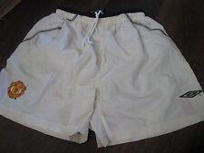 2000-2001 Manchester United  Home Football Shorts Size 152-158cm waist  /bi