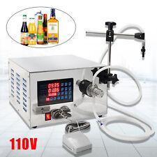 Lt 1 50 Kw Magnetic Pump Semi Automatic Liquid Filling Machine Anti Drip Filling