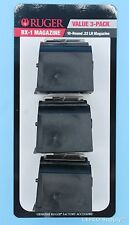 Ruger 10/22 Magazine Value 3 Pack 10-Round 22-LR Genuine BX-1 OEM Clip 90451 NEW