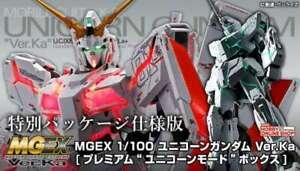 Bandai Spirits 1:100 MGEX Unicorn Gundam Model Kit Ver.Ka from Japan