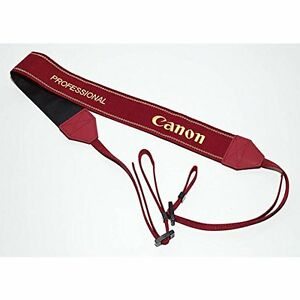 Canon Official Neck Strap EOS SLR L Red EOS Strap PROFESSIONAL VERSION Japan F/S