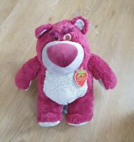 BNWT Disney Toy Story Lotso Bear Strawberry Scented Medium Plush Soft Toy