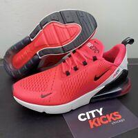 New Mens Nike Air Max 270 Red Orbit Black Running Shoes Sz 12 BV6078 600