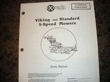 Exmark viking ,standard 70,000 & higher parts manual ipl 850188