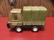 Vintage 1970's Buddy L Metal Army Truck Troop Transport Hq5121 Japan Rare Toy