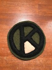 WWI US Army 95th Division,Quartermaster unit patch AEF
