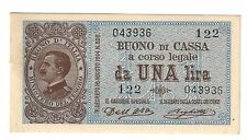 1 lira vittorio emanuele III° 21 09 1914 sup LOTTO 1421