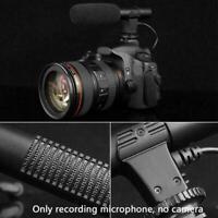 Camera Microphone MIC For Nikon Canon DSLR DV Interview External Recording J1M2