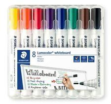 STAEDTLER Lumocolor Whiteboard Marker 8 Assorted Color 2mm Bullet Point 351 WP8