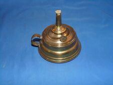 New ListingVintage E. Miller Co Small Brass Whale Oil Finger Lamp