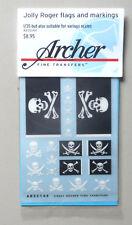 JOLLY ROGER FLAGS MARKINGS 1:35 ARCHER TRANSFERS 35144