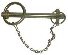 Broche à poignée avec chaînette et goupille - 32mm x 152mm