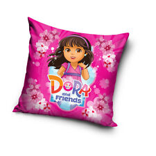 NEW Dora & Boots cushion cover 40 x 40 cm 100% COTTON pillow cover 15