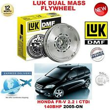 FOR HONDA FRV 2.2 i CTDi 140BHP 2005-ON ORIGINAL LUK DMF DUAL MASS FLYWHEEL
