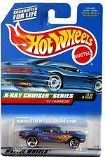 1999 Hot Wheels #947 X-Ray Cruiser Series '67 Camaro 3 spoke