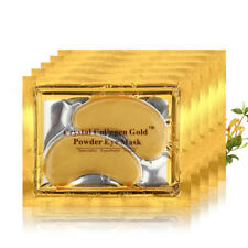 5 pairs Crystal Gold Collagen Under Eye Patches Mask DARK CIRCLES BAGS WRINKLES