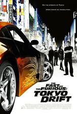 THE FAST AND THE FURIOUS TOKYO DRIFT MOVIE POSTER 2 Sided ORIGINAL FINAL 27x40