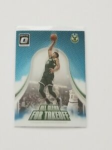 2017-18 DONRUSS OPTIC GIANNIS ANTETOKOUNMPO ALL CLEAR FOR TAKEOFF
