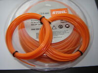 2X5MTRS OF 2.4mm GENUINE STIHL ROUND  STRIMMER CORD / LINE PETROL  STRIMMERS