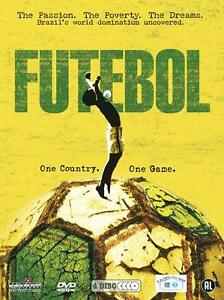 Futebol - 4 dvd box in seal , Brazil, Brazilië is voetbal