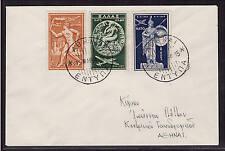 Griechenland, Mi-Nr. 615-617, FDC, Ersttagsbrief, Greece (20550)