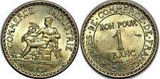 1 FRANC CHAMBRE DU COMMERCE 1921 SUP+++