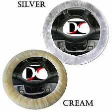 Sheepskin Steering Wheel Cover Choose color - Like Seat Covers