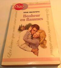 Book in French BONHEUR EN FLAMES Livre en Francais DUO Série Romance