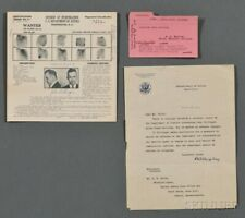 John Dillinger Original Wanted Poster May 1934 With Government Letter.