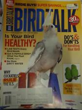 *BIRD TALK MAGAZINE Jul 12 Parrotlet Cockatiel Parrot Egg Laying Hormonal Behave