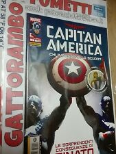 Capitan America N.4 Rinato imbustato - Marvel Panini comics Qs. Edicola