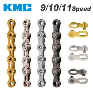 KMC BIKE Chain 8/9/10/11/12 Speed Bike Chain MTB Road Racing Bicycle Chain