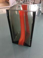 LUDOVICO DIAZ de SANTILLANA VENINI vintage vase 5-1/2 inches PIERRE CARDIN 1969