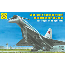 Tupolev Tu-144 Soviet Russian Supersonic Jet Airliner Model Kits scale 1:300