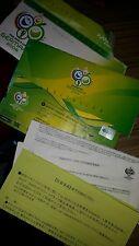 COPPA DEL MONDO 2006 biglietto di corrispondenza e sponsor Pack-Game 51. Inghilterra vs. Ecuador