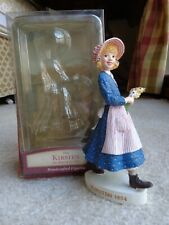 "American Girl Kirsten Handcrafted 6"" Hallmark Figurine Collectible Euc"
