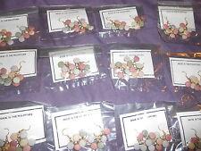 12 new Wholesale joblot 7 flat bead coloured earrings