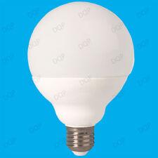4x 15W del G95 décor 95mm GLOBE 3500K chaud blanc lampe, ES, E27