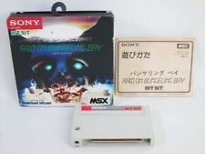 MSX RAID on Bungeling port import Japanese video game 3023 MSX