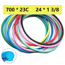 700x23C 24*1/38 Road Bike Solid Tire Puncture-proof Bicycle Wheel Tubeless Tyre
