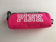 VICTORIA SECRET PINK COSMETIC MAKEUP BAG PINK 2016 NEW PENCIL BAG