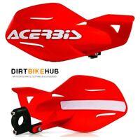 Acerbis Uniko MX Enduro Handguards + Fitting Kit Red Honda CRF 450R/X 2014 2015
