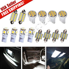14X White LED Interior Package Kit for T10 & 31mm Map Dome License Plate Lights
