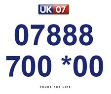 07888 700 *00 Numbers - Gold Easy Memorable Business Platinum VIP Mobile Numbers