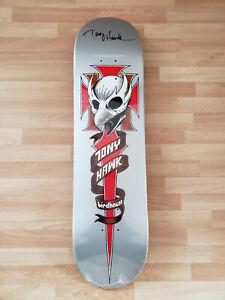 New Tony Hawk Signed Autographed Birdhouse Skateboard Deck