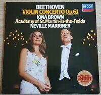 Beethoven Violin Konzert Brown Marriner DECCA 6.42837 Stereo Digital