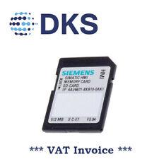 Siemens 6AV6671-8XB10-0AX1 HMI Memory Card 512Mb SD-CARD 001437
