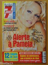 PAMELA ANDERSON Coupure de presse 5 pages 1999 – French Clipping
